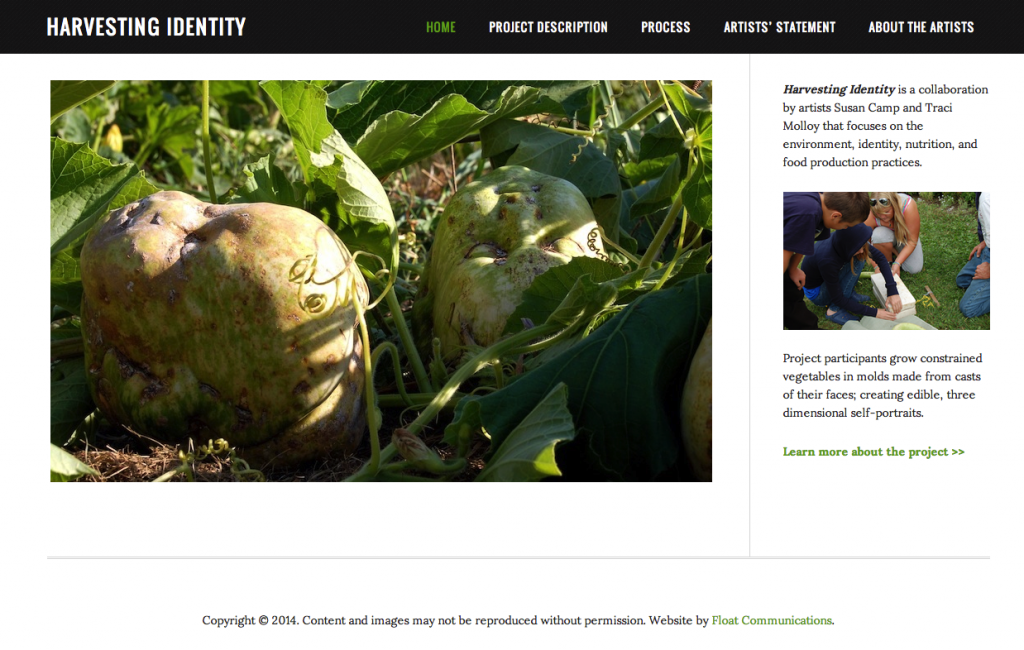Harvesting Identity Screenshot