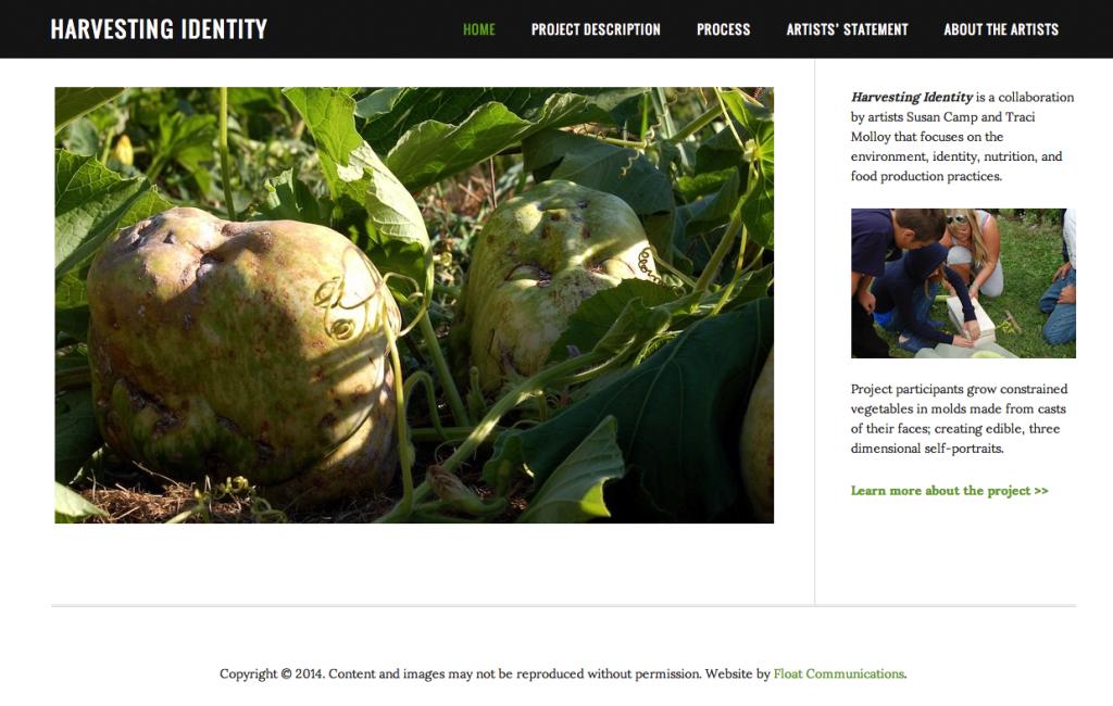 Harvesting Identity Screenshot